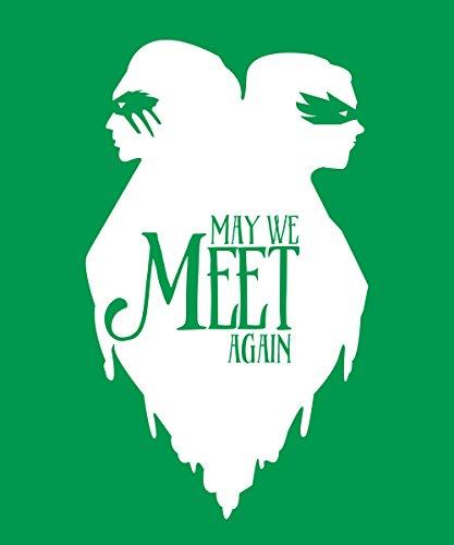-- Meet Again -- Girls T-Shirt Kelly Green