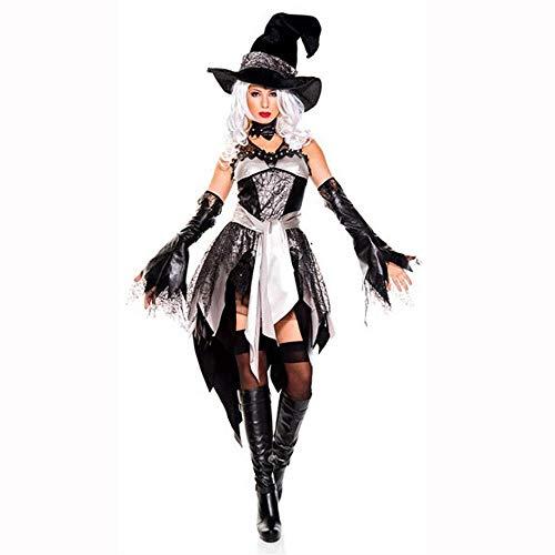 ie Club Wear Frauen Cosplay Kleid Halloween Hexe Kostüm Karneval Burlesque Kostüme Für Erwachsene ()