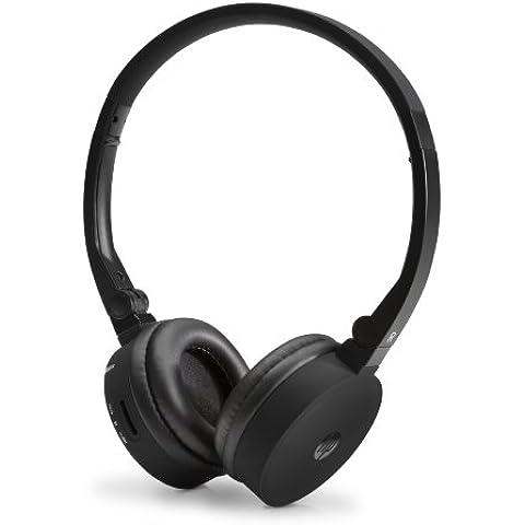 HP H7000 - Auriculares de diadema abiertos (Bluetooth, USB, control remoto), negro