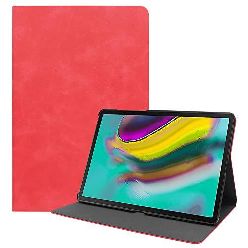 VrsaMwbbmml Hülle Samsung Galaxy Tab S5e 10.5 Inch Jungen schlank staubdicht stoßfest Backcover Jungen - Red - Jungen Red Tab