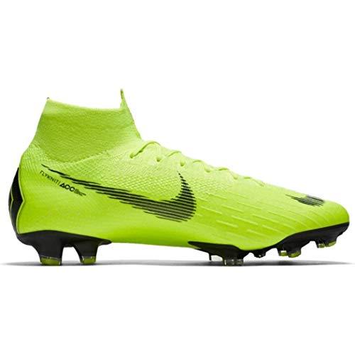 Nike Unisex-Erwachsene Superfly 6 Elite Fg Fußballschuhe, Grün (Volt/Black 701), 42.5 EU