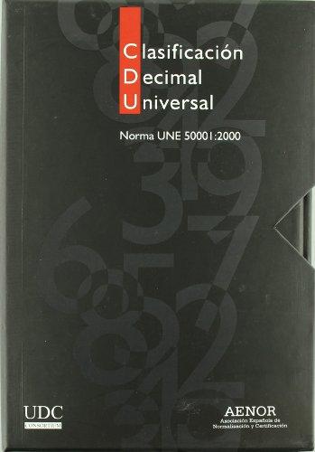 Descargar Libro Clasificación Decimal Universal. Norma UNE 50001:2000: 3 de CDU Consortium