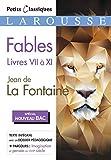 Fables livres VII à XI (Bac 2020-2021): Jean de La Fontaine...
