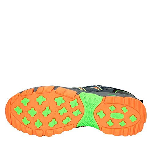 CMP Atlas - Scarpe da Trail Running Uomo Navy-Mint-Orange-Fluo