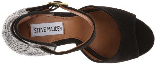 Steve Madden - Stepout, Sandalo col tacco Donna Black/black