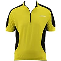 Briko camiseta ciclismo hilado hombre DUO ESPECIAL 2 amarillo negro 010600- YA