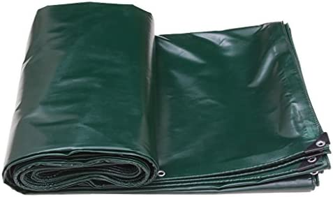 Telo impermeabile impermeabile impermeabile verde scuro Tarpaulin per campeggio Pesca Giardinaggio Prossoeggere Tenda a legna da ardere tetto 520g   m² Spessore 0,4 MM 7 dimensioni disponibili (dimensioni   2M3M) | Pacchetto Elegante E Robusto  | Elevata Sicurezza  ecb0e2