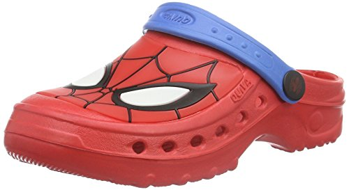 Spiderman Jungen Boys Kids Clog Sandals and Mules, Rot (Red/C.Blue 605), 29/30 EU