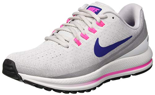 Nike Wmns Air Zoom Vomero 13, Scarpe Running Donna, Multicolore (Vast Grey/Deep Royal Blue 009), 40.5 EU