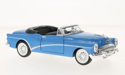 buick-skylark-blu-1953-modello-di-automobile-modello-prefabbricato-welly-124-modello-esclusivamente-
