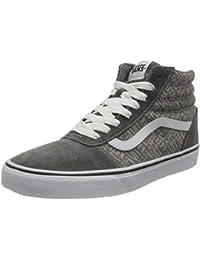 Vans Ward Hi Suede/Canvas, Sneaker Hombre