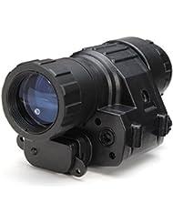 Moppi Casco del dispositivo de la visión nocturna digital hd americano del telescopio monocular