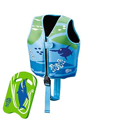Beco Sealife Ray Schwimmweste und Schwimmbrett - grün