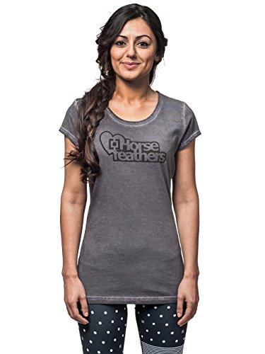 Horsefeathers Débardeur pour femme Love Logo Noir - Noir délavé
