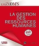 La gestion des ressources humaines...