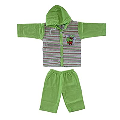 VINAB Cotton Baby Boy's And Girl's Clothing Set (TN585Pcs_6 to 12 Months) - Pack of 5