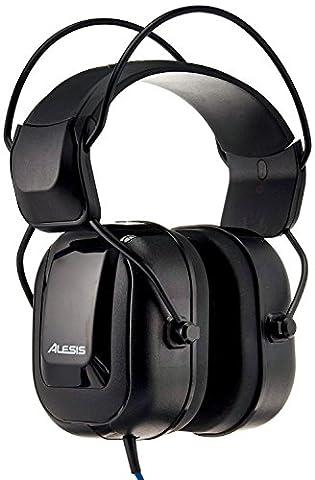 Alesis - DRP100 - Casque Audio Circum-Auriculaires de Référence pour Batterie Electronique Professionnelle - Noir