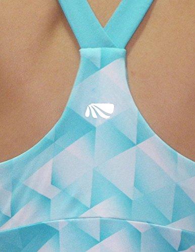 Marika Femme Athletic Débardeur Sport Course à pied Yoga Multicolore