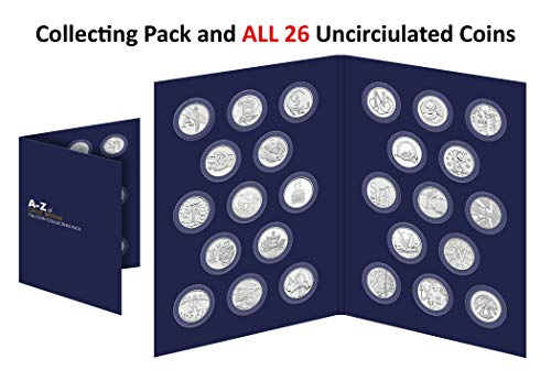 2018 UK A-Z 10p Complete Collecting Pack - 26 Uncirculated Coins [Ref 451F]