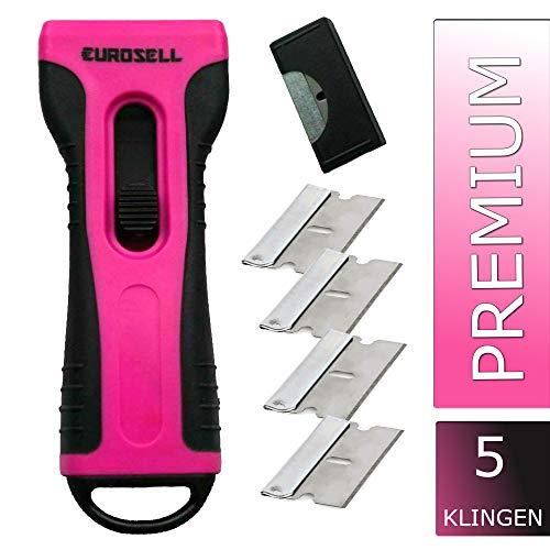 Eurosell Premium Cristal/Rascador vitrocerámica hobs-Limpiador ergonómico vitriocerámica cerans...