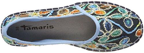 Tamaris Damen 24650 Slipper Mehrfarbig (Multicolour)