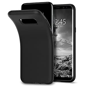 Spigen Liquid Crystal Case for Samsung Galaxy S8 - Matte Black 565CS21613