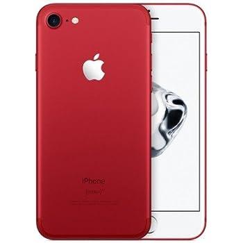 "Apple iPhone 7 SIM única 4G 128GB Rojo - Smartphone (11,9 cm (4.7""), 128 GB, 12 MP, iOS, 10, Rojo)"