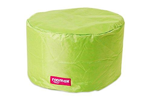 ROOMOX Tube Lounge-Sitzsack, Stoff 50 x 50 x 30 cm, Limettengrün