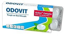 Mundgeruch - dagegen hilft ODOVIT : Mundpflege-Bonbons 10er - Stark gegen Mundgeruch - mild im Geschmack - für nachhaltig frischen Atem