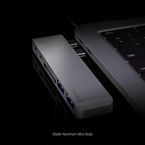 41wS8Duny2L - [Amazon.de] dodocool Dual USB-C Hub für 35,99€ statt 59,99€