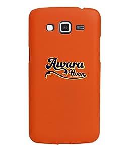 KolorEdge Back Cover For Samsung Galaxy Grand 2 - Orange (1058-Ke15142SamGrand2Orange3D)