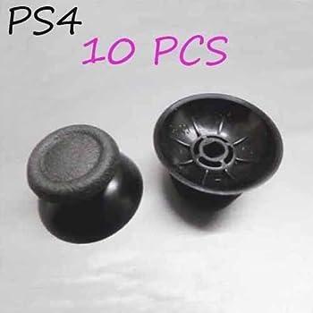 10pcs Black Thumb Sticks Joystick Cap For Ps4 Controller Dualshock 4 0