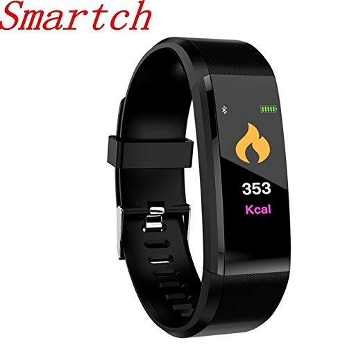 Plus Smart Armband GPS Fitness Tracker Uhren Band Herzfrequenz Schrittzähler Multi-Sport H115 Armband Für IOS An