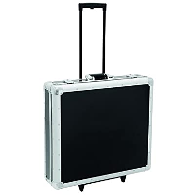 ROAD INGERSOLL CD case, black, 200 CDs, with trolley