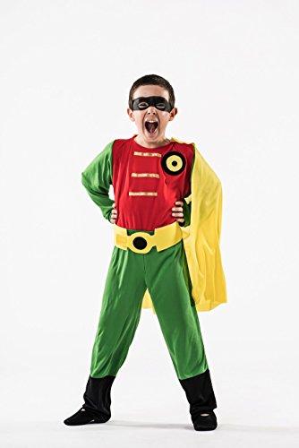 Disfraz de Súper Robin Niño (5-7 años)