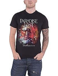 Paradise Lost T Shirt Draconian Times Album Band Logo Nouveau Officiel Homme 849bbc288bff