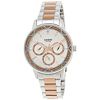 Casio Enticer Analog Multi-Color Dial Women's Watch – LTP-2087RG-7AVDF (A902)