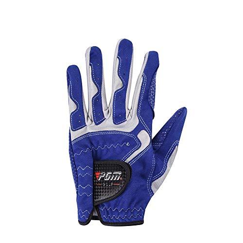 welltobuy Golfhandschuh Golf Handschuh Leder für maximalen Grip und gefühlvolle Schläge, Golfhandschuhe für Herren Aber auch für viele Damen passend -