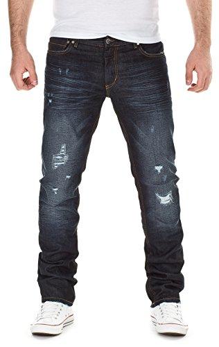 Yazubi Herren Jeans Detroy Destroyed by YZI Jeans 2015 H/M Star MOD 13032 D.G