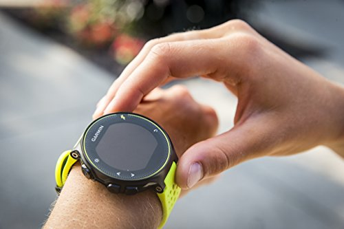 Garmin Forerunner 230 HR GPS-Laufuhr inkl. Herzfrequenz-Brustgurt – 16 Std. Akkulaufzeit, Smart Notifications - 5