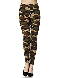 5eecd63b3de706 ROOLIUMS ® (Brand Factory Outlet) Army Leggings/Jeggings, Army Joggers for  Women