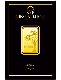 KING BULLION 10 gm, 24KT (999) Yellow Gold Bar