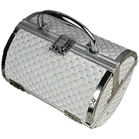 Cosmetic Case Valigia Cilindro sacchetto cosmetico di immagazzinaggio di viaggio