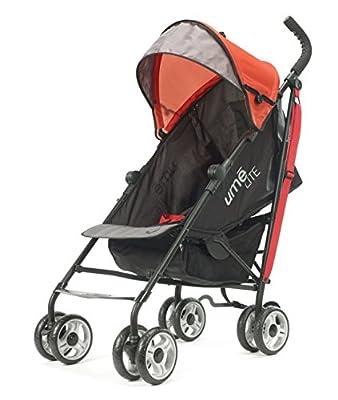 Summer Infant Ume Lite - Cochecito para bebés, color negro y rojo