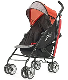 Summer Infant UME Lite Stroller (Black/Red)