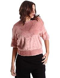 Converse 10006217 Sweatshirt Women Pink M
