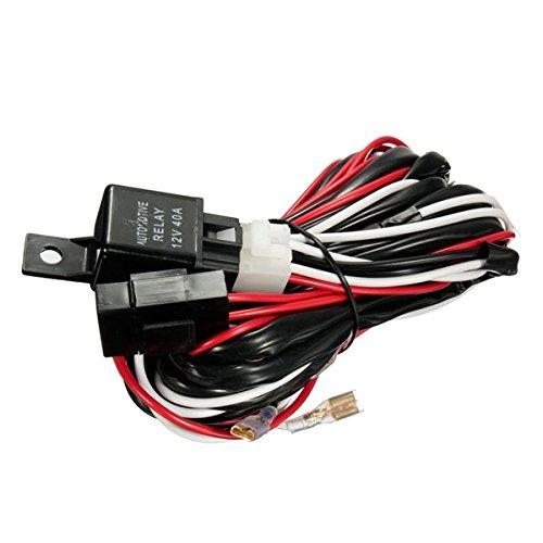 Viviance 12V 40A 300W Relais-Sicherungs Kabel Für Jeden 5-Pin-Led-Licht Rocker-Schalter -