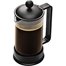 Bodum Brazil - Cafetera de émbolo, 3 tazas, 0,35 l, plástico, color negro