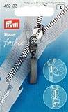 Prym Classic Fashion Zipper Pullers, Metal Black