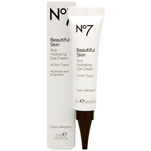 Boots No7 Beautiful Skin Rich Hydrating Eye Cream .5 oz. by BOOTS (English Manual)